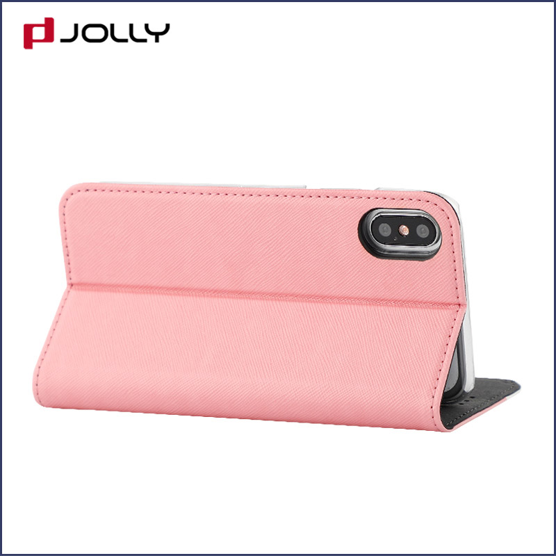 Jolly latest anti-radiation case with slot kickstand for iphone xs-5
