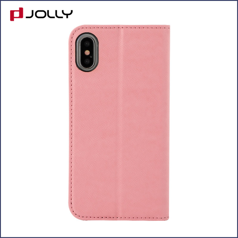 Jolly latest anti-radiation case with slot kickstand for iphone xs-6