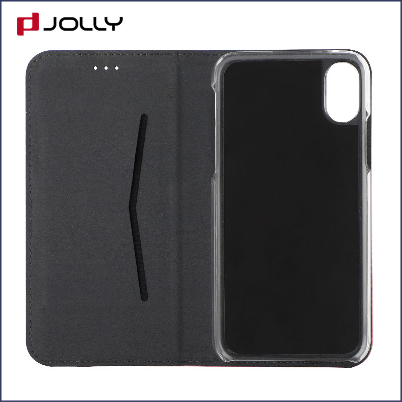 Jolly latest anti-radiation case with slot kickstand for iphone xs-8