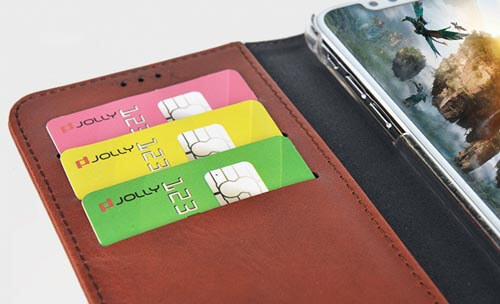 Jolly cell phone wallet purse company for iphone xs-9
