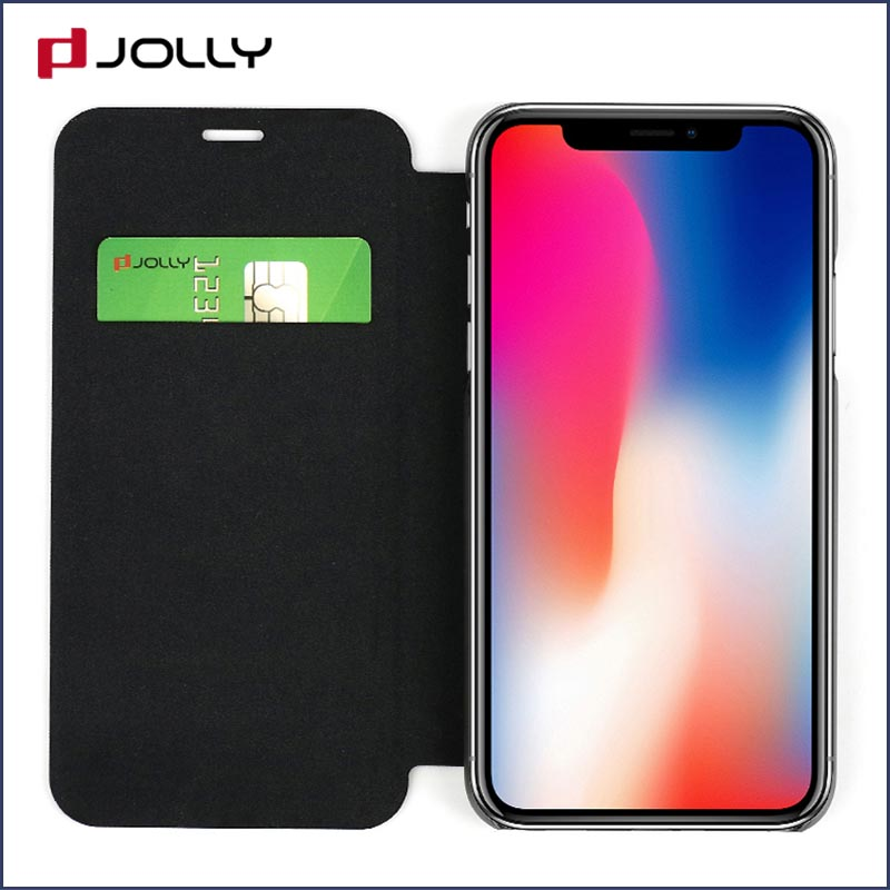 custom designer cell phone cases with id and credit pockets for iphone xs-6
