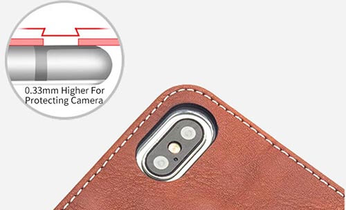 Jolly anti radiation phone case with id and credit pockets for iphone xs-8