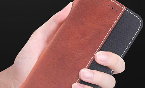 Jolly anti radiation phone case with id and credit pockets for iphone xs-7