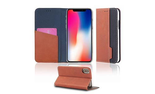 Jolly anti radiation phone case with id and credit pockets for iphone xs-2