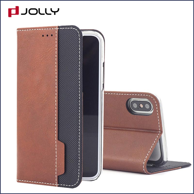 Jolly anti radiation phone case with id and credit pockets for iphone xs-15