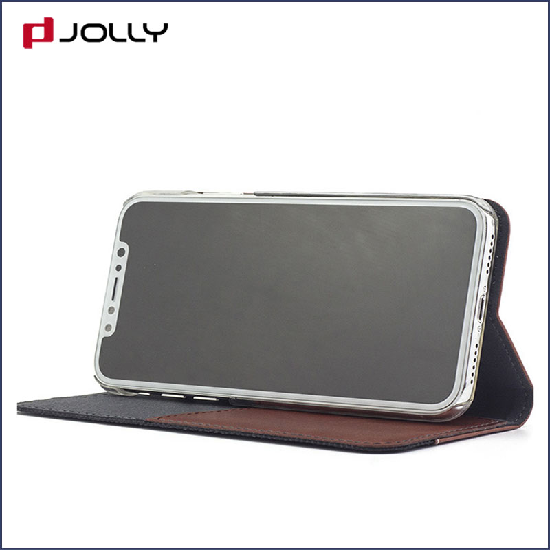 Jolly anti radiation phone case with id and credit pockets for iphone xs-16