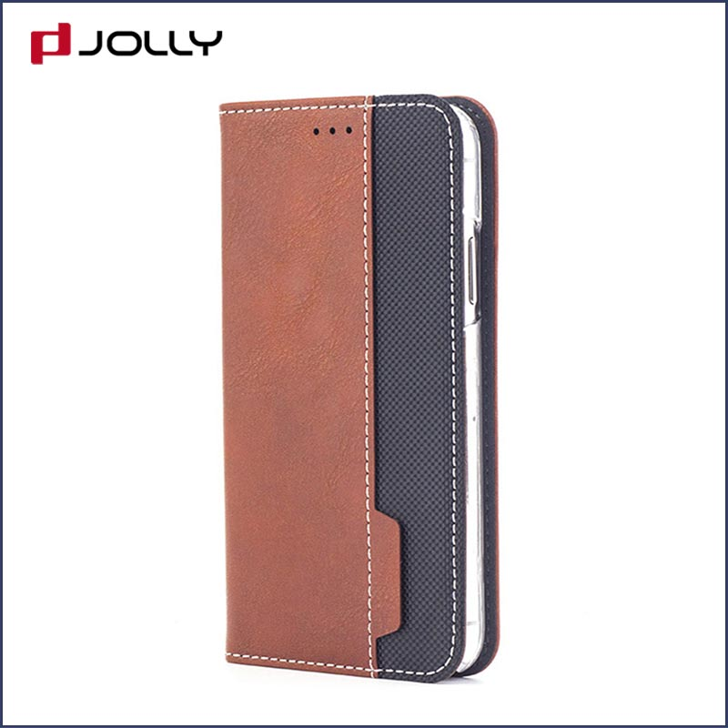 Jolly anti radiation phone case with id and credit pockets for iphone xs-17
