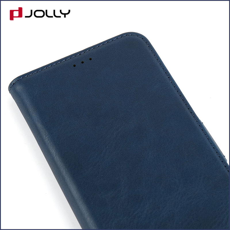 Jolly slim leather initial phone case company for iphone xs-5