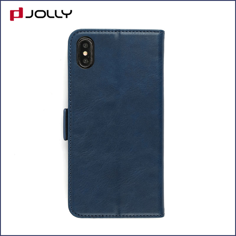 Jolly slim leather initial phone case company for iphone xs-10