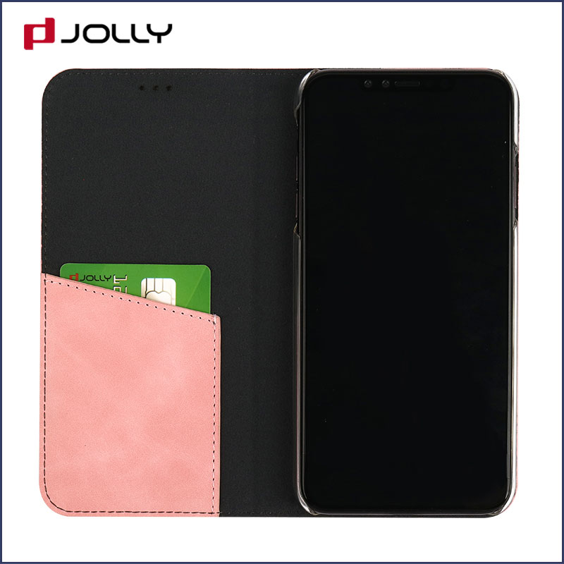 Jolly best flip cell phone case with id and credit pockets for sale-7