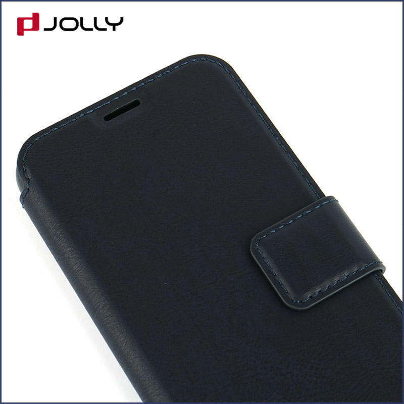 slim leather flip phone case with id and credit pockets for sale