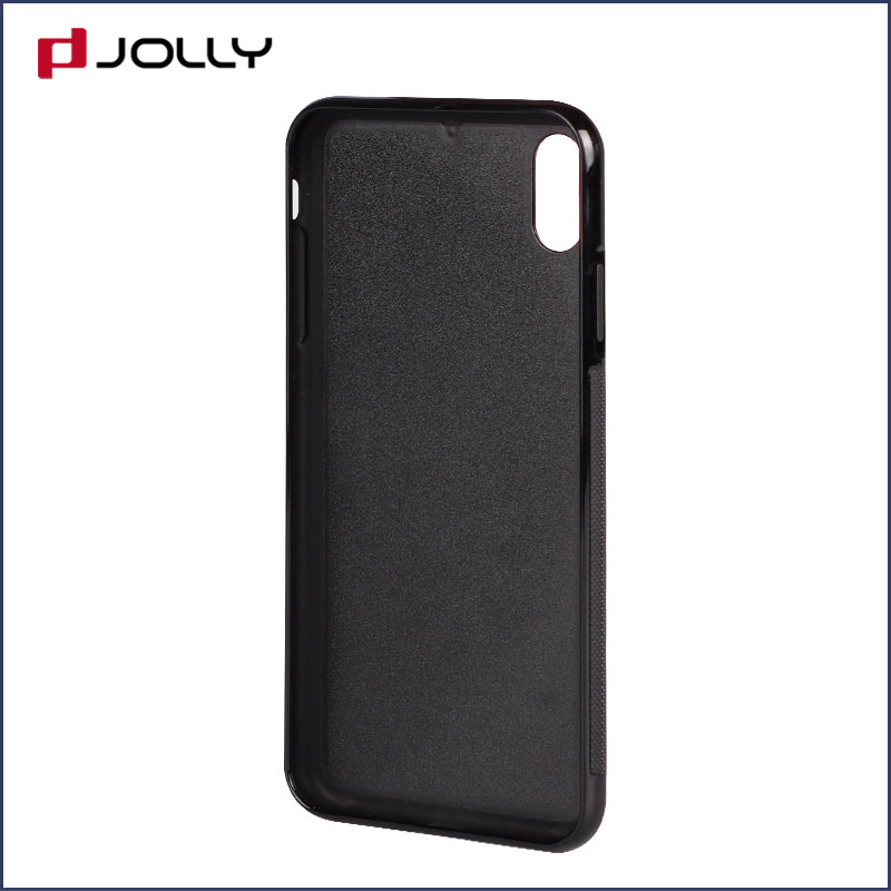 iPhone Xs Max Back Cover, Tpu Non-Slip Grip Armor Protection Case DJS0912-4