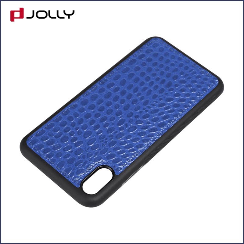 iPhone Xs Max Back Cover, Tpu Non-Slip Grip Armor Protection Case DJS0912-10