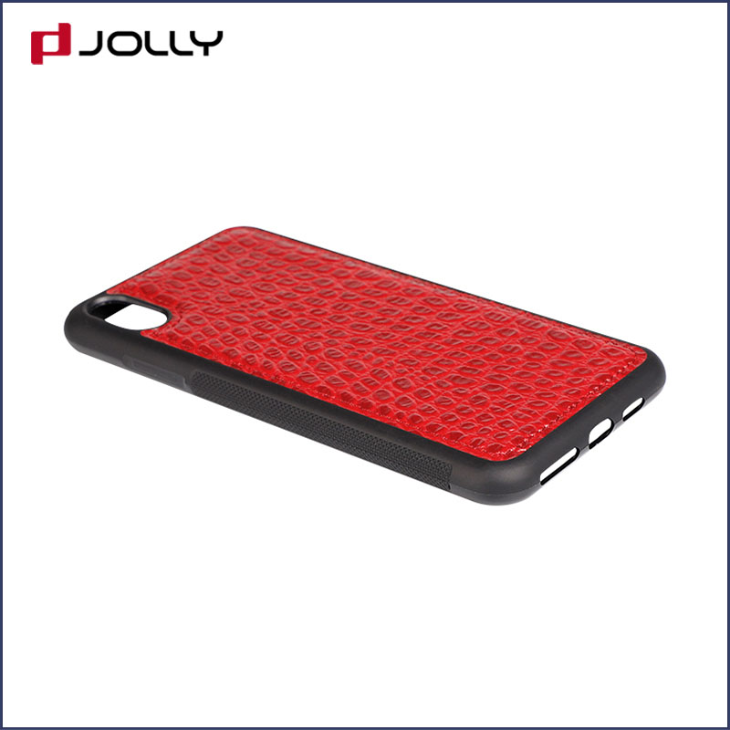 iPhone Xs Max Back Cover, Tpu Non-Slip Grip Armor Protection Case DJS0912-11