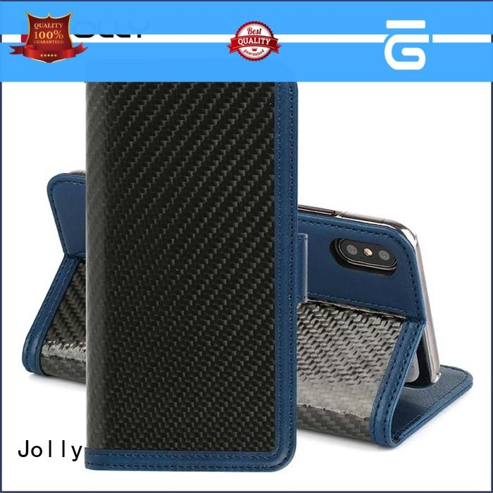 Jolly djs phone case and wallet with cash compartment for apple