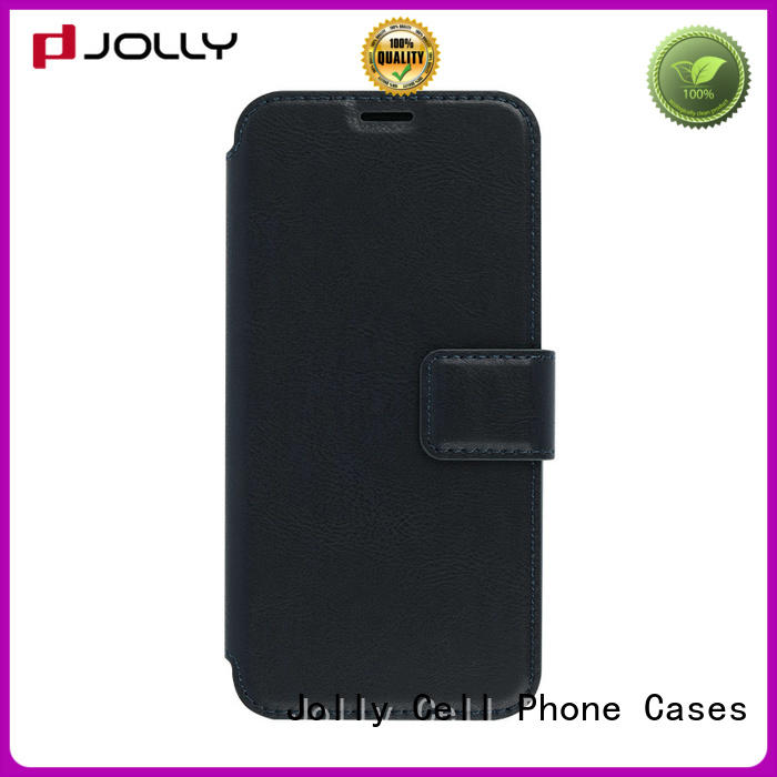 Jolly cheap cell phone cases with slot kickstand for mobile phone