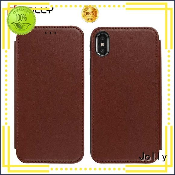 Jolly covers personalised leather phone case slot supplier