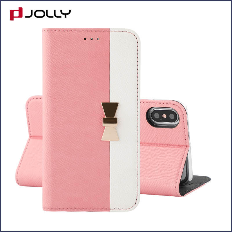 Jolly latest anti-radiation case with slot kickstand for iphone xs-1