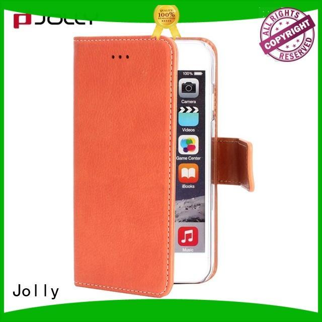 Jolly zip around leather wallet phone case djs for apple