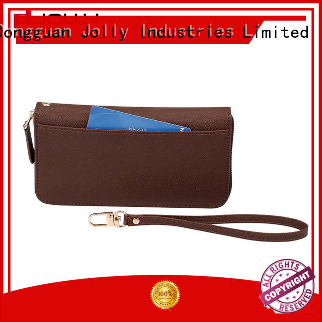 Jolly best cell phone wallet factory for mobile phone
