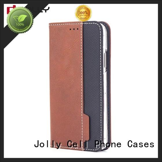 new initial phone case with slot kickstand for iphone xs Jolly
