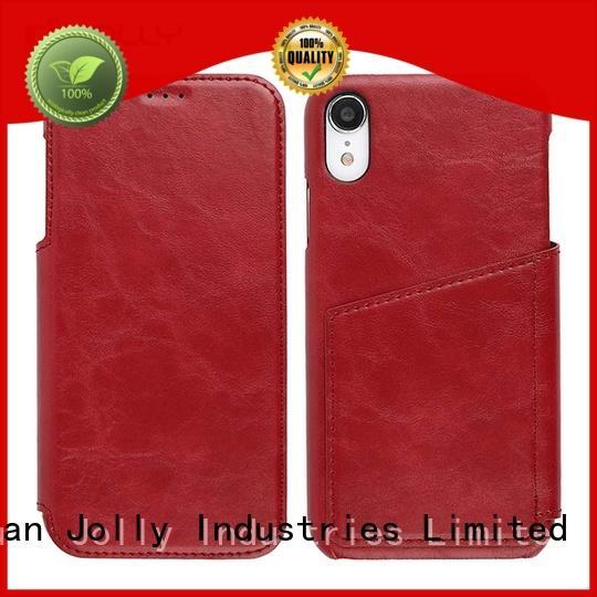 Jolly leather flip case samsung mobile manufacturer