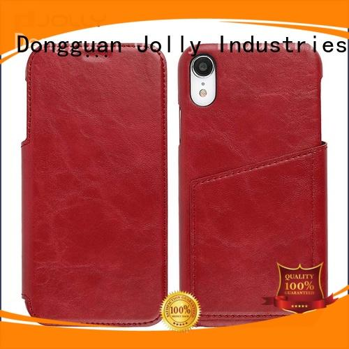 djs anti-radiation case with strong magnetic closure for iphone xs