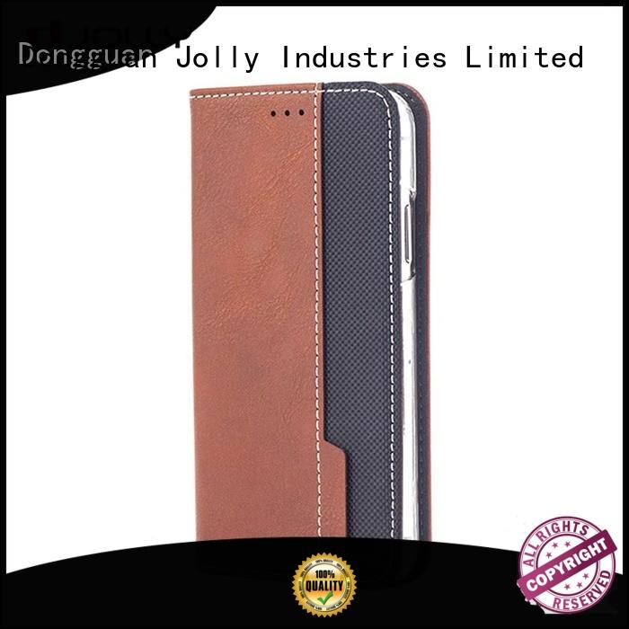 initial apple iphone flip case with slot for sale Jolly
