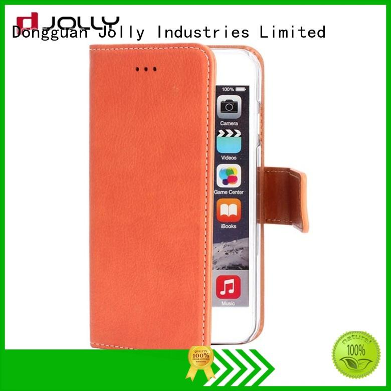 Jolly imitation phone case and wallet supply for mobile phone
