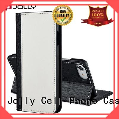 Jolly wallet style phone case with slot for iphone xs
