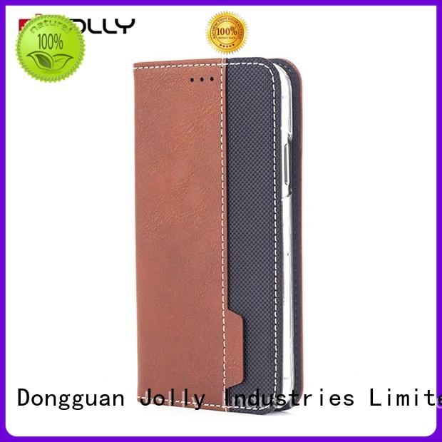 Jolly top magnetic flip phone case for busniess for sale