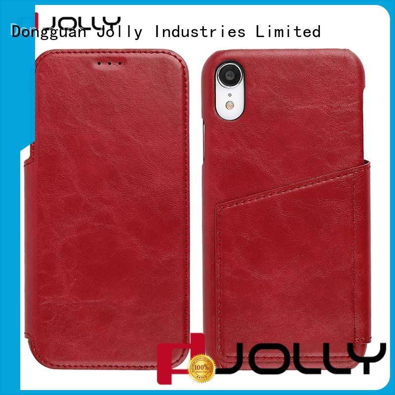 leather flip phone case djs for sale Jolly