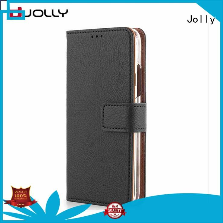 Jolly wallet style phone case with slot for mobile phone