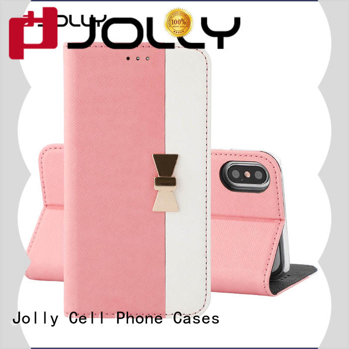 Jolly wholesale anti radiation phone case with slot for sale