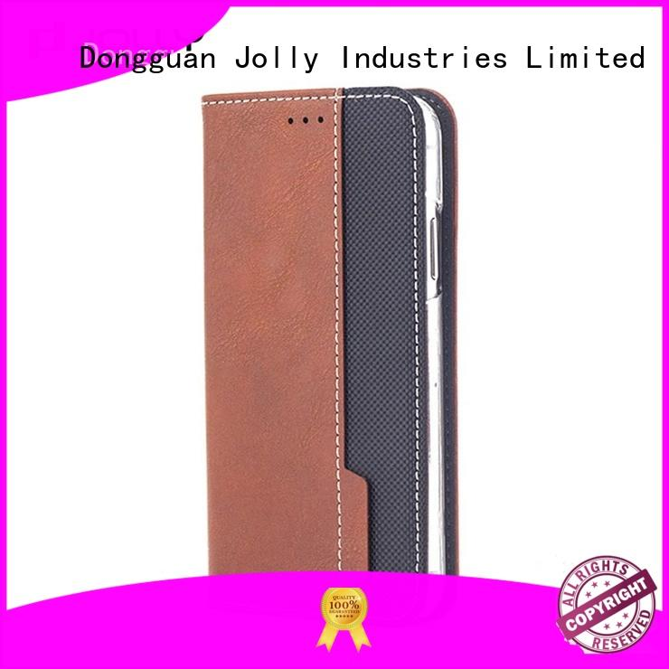 best initial phone case with id and credit pockets for mobile phone
