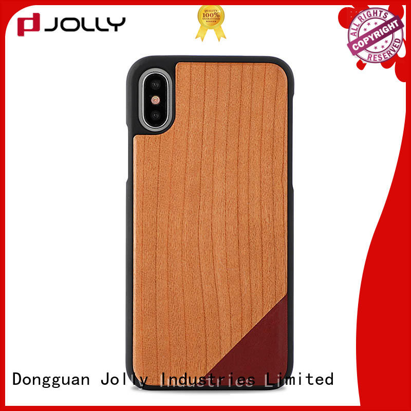 wood cover OEM personalised phone covers Jolly