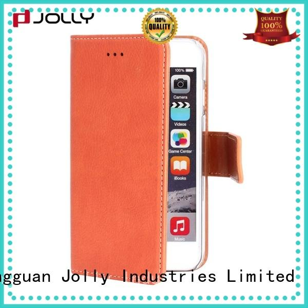 imitation women's cell phone wallet with printed pattern cover for sale