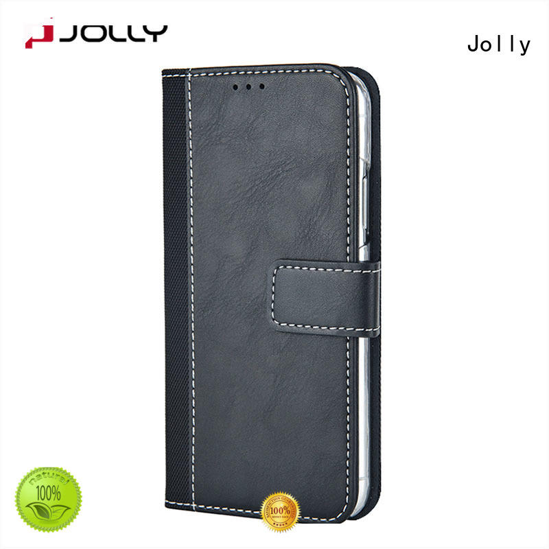 Jolly imitation android phone case wallet for iphone xs