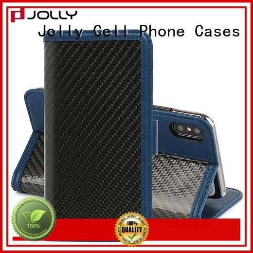 Jolly cell phone wallet case supply for mobile phone