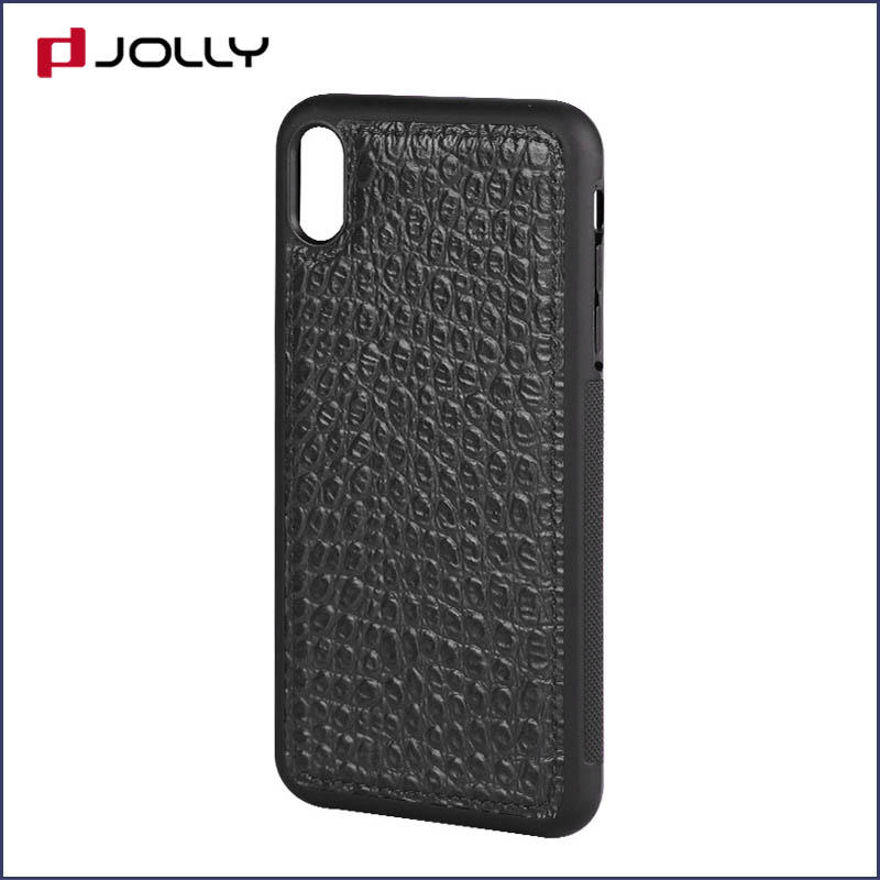 iPhone Xs Max Back Cover, Tpu Non-Slip Grip Armor Protection Case DJS0912-3