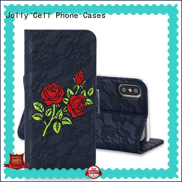 djs cell phone wallet wristlet with rfid blocking features for apple