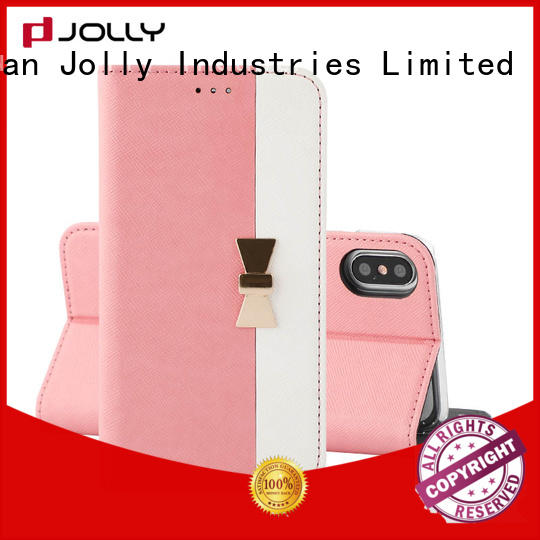 Jolly leather phone case factory for mobile phone