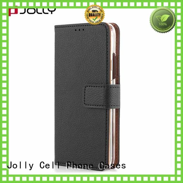 best leather cell phone wallet with id and credit pockets for apple