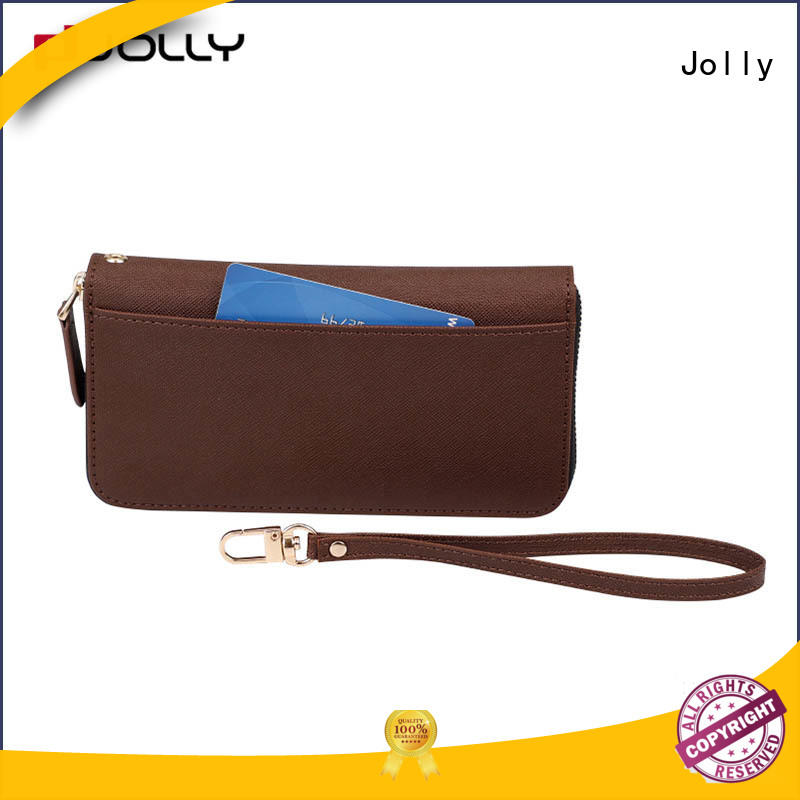 Jolly mens cell phone wallet with id and credit pockets for sale