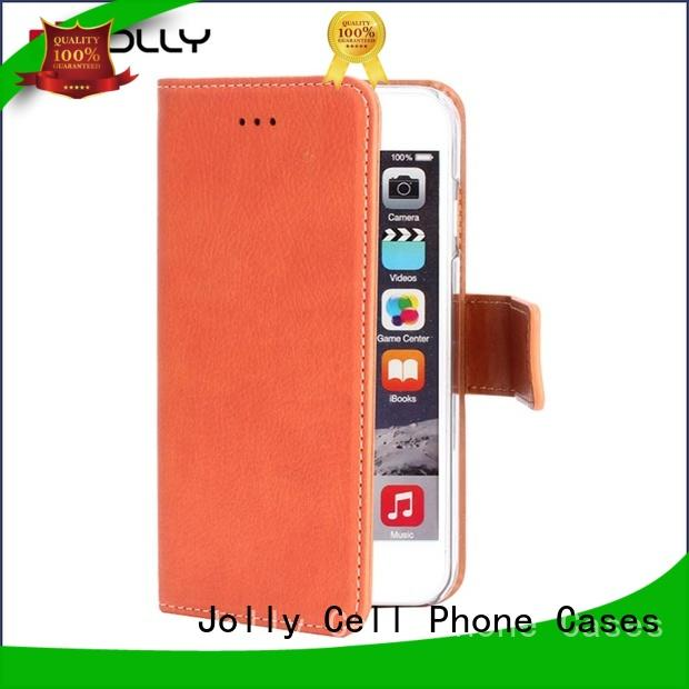 real carbon fiber cell phone wallet case with cash compartment for apple