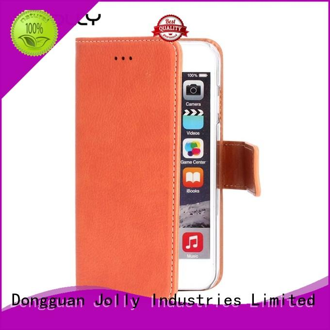 Jolly new wallet style phone case company for mobile phone
