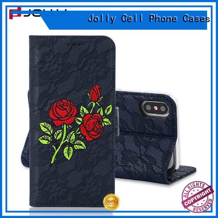Jolly Brand phone crossbody carbon max wallet phone case