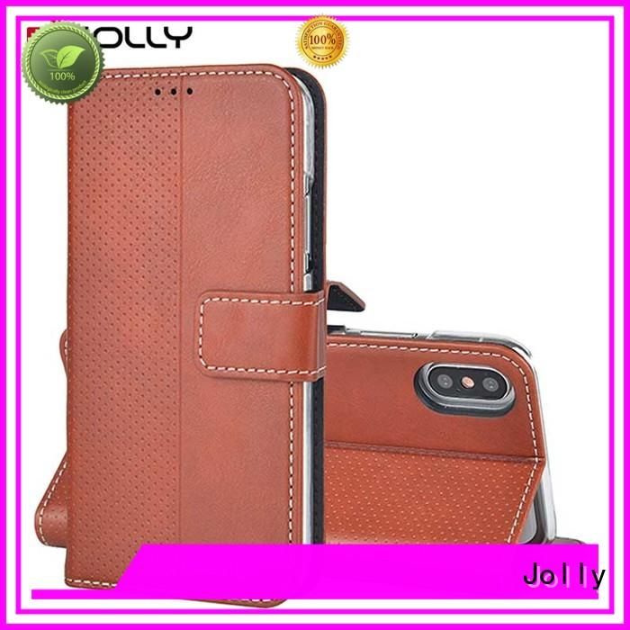 Quality Jolly Brand features wallet phone case