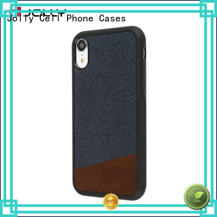 Jolly customized mobile cover supplier for iphone xs