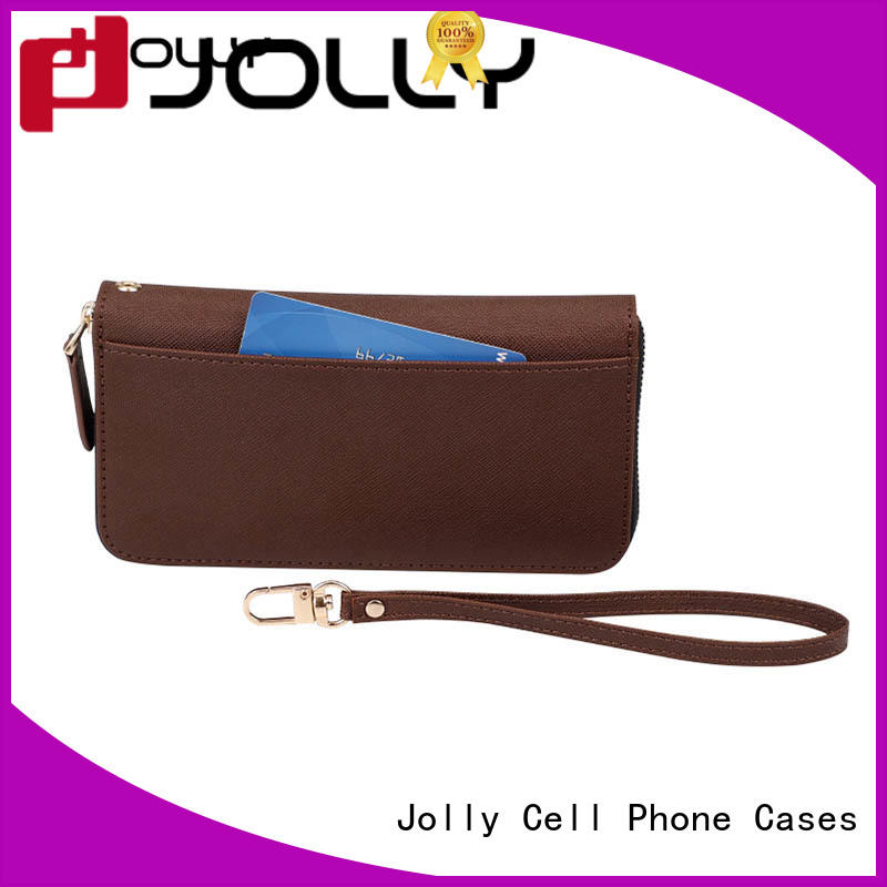 Jolly women detachable wallet phone case for iphone xs